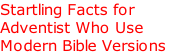 Startling Facts for